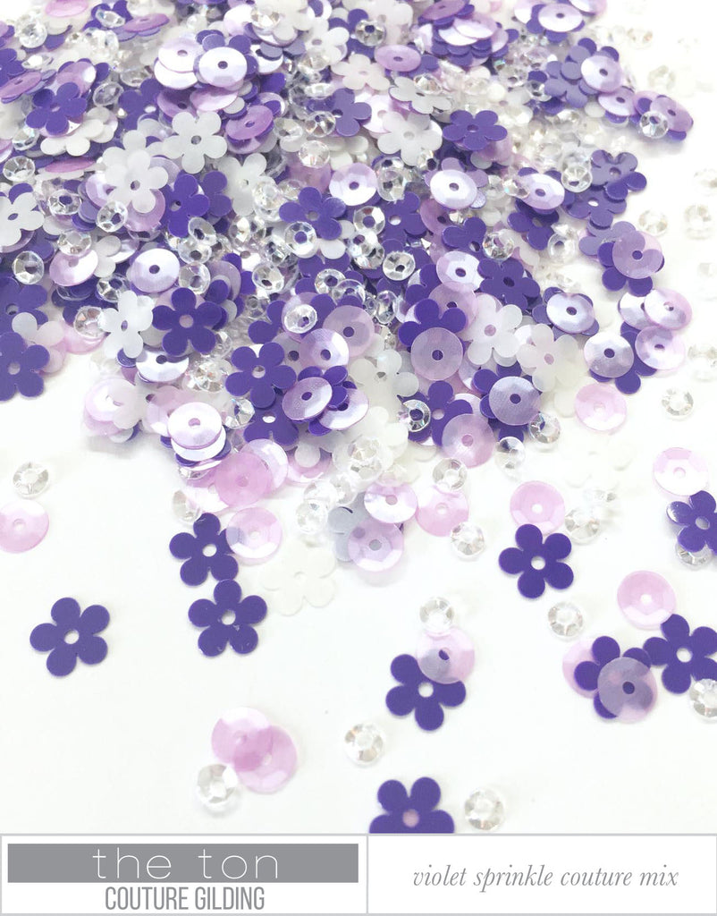 Violet Sprinkle Couture Mix