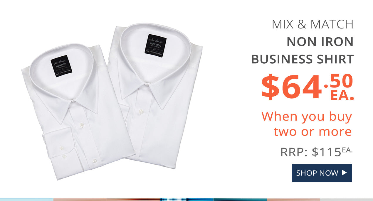 Ron Bennett Non Iron Business Shirts