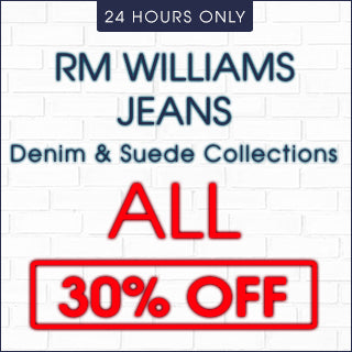 RM Williams Jeans now 30% Off | Click Frenzy 2015