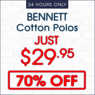 Bennett Cotton Polos 70% Off | Click Frenzy 2015