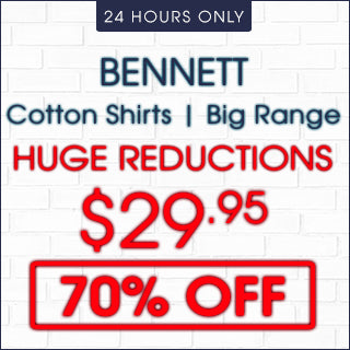 Bennett Cotton Casual Shirts now 70% Off | Click Frenzy