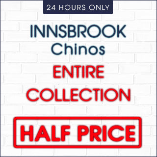 Innsbrook Chinos Collection now 50% Off | Click Frenzy