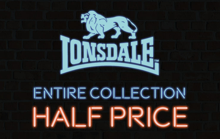 Lonsdale London Half Price | Click Frenzy 2015