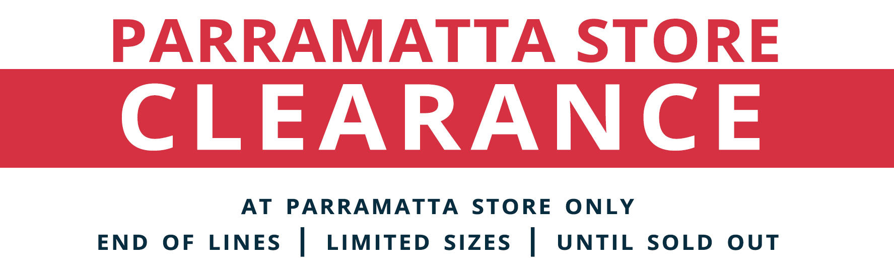 Parramatta Clearance Department