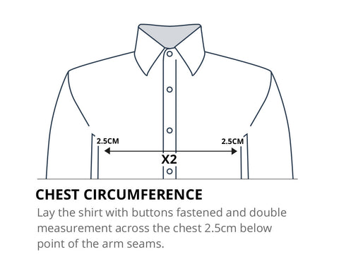 How to measure your chest circumference