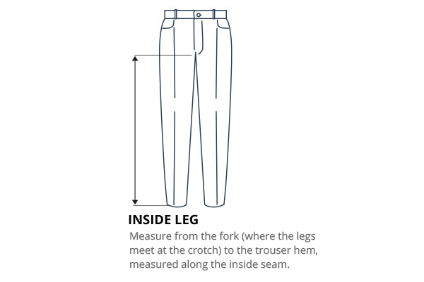 How do I measure my inside leg