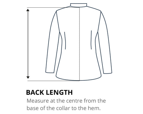 How to measure your Back Length