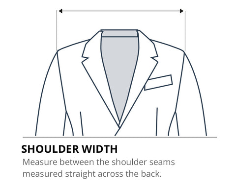 How to measure shoulder width