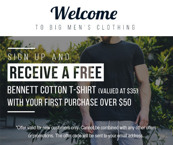 Free T-Shirt Signup Offer