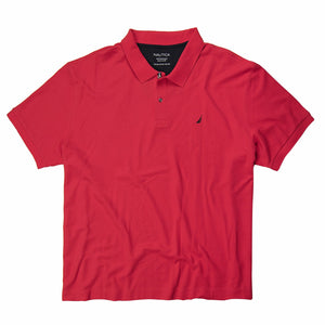 Nautica Deck Polo in Rose Coral