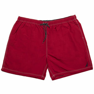 Nautica Swim Short in Red