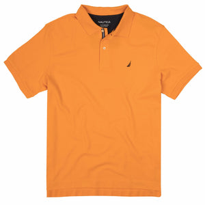 Nautica Performance Polo in Orange