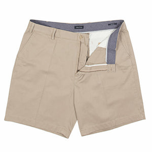 Nautica Flat Shorts in Khaki