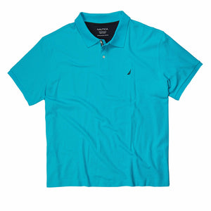 Nautica Deck Polo in Calypso Blue