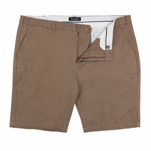 Blazer Twill Stretch Short in Walnut