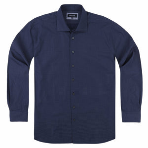 Blazer Imperial Business Shirt in Navy Print