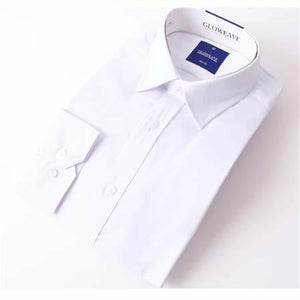 Gloweave The Essential White Textured Shirt