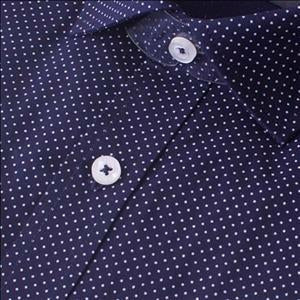 Gloweave 1743L Pin Dot Print in Navy