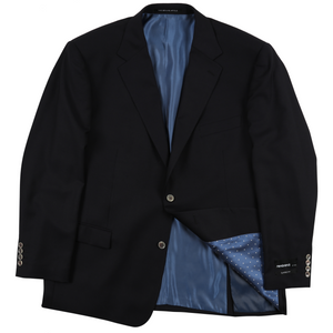 Rembrandt Sports Jacket in Navy - Ron Bennett Big Men's Clothing - 1