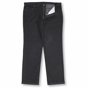 Innsbrook Stretch Jeans in Black - Ron Bennett Big Men's Clothing - 1
