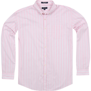 Gant 'Sunbreeze' Shirt in Pink - Ron Bennett Big Men's Clothing - 1