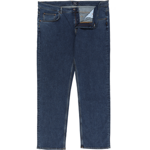 Gant 'Tyler' Comfort Jeans in Mid Blue - Ron Bennett Big Men's Clothing - 1