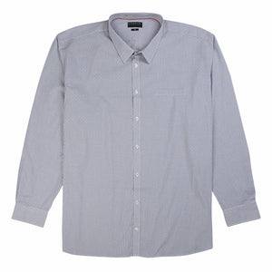 Gloweave Essential Dobbie Check Shirt in Granite