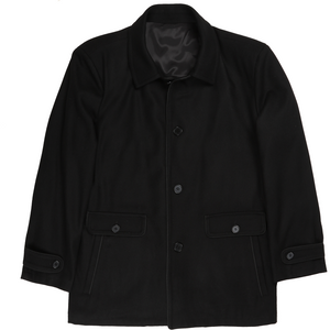 Bennett Heritage Winter Jacket in Black - Ron Bennett Big Men's Clothing - 1