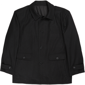 Bennett Heritage Winter Jacket in Charcoal - Ron Bennett Big Men's Clothing - 1