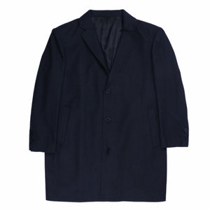 Bennett Heritage Winter Overcoat in Navy