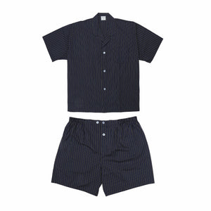 Koala Summer Cotton Pyjama Set in Navy