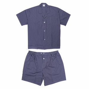 Koala Summer Cotton Pyjama Set in Charcoal