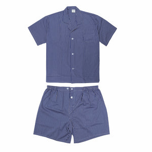 Koala Summer Cotton Pyjama Set in Royal