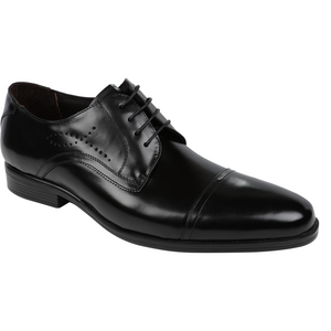 Florsheim 'Bligh' Shoe in Black - Ron Bennett Big Men's Clothing - 1