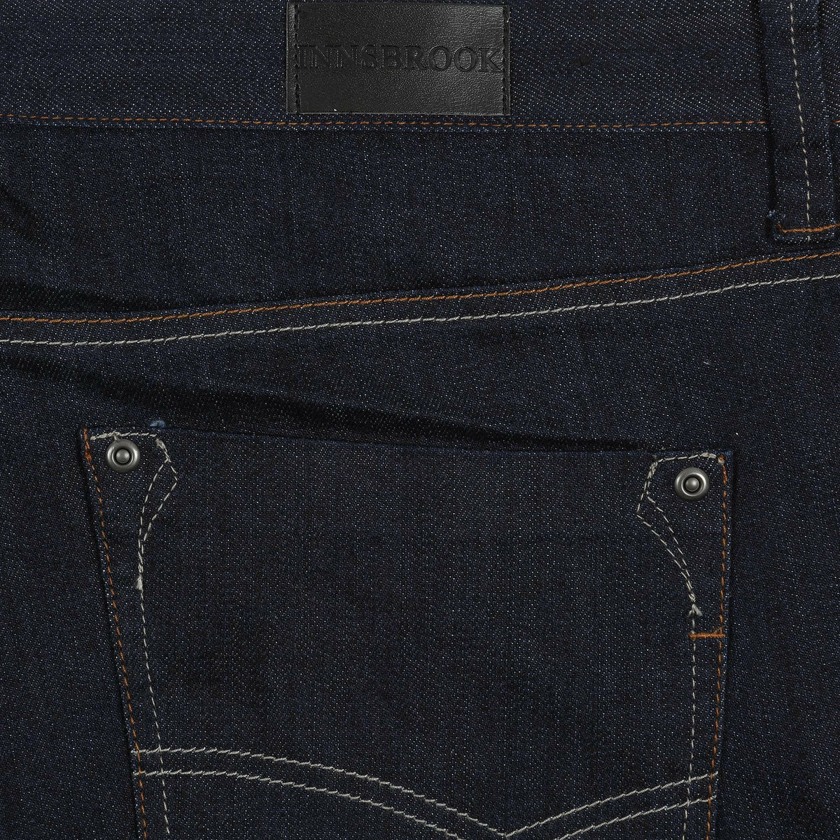 Innsbrook Stretch Jeans in Navy - Ron Bennett Big Men's Clothing - 4