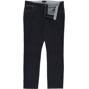 Innsbrook Stretch Jeans in Navy - Ron Bennett Big Men's Clothing - 1