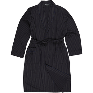 Pierre Cardin Bath Robe in Navy - Ron Bennett Big Men's Clothing - 1
