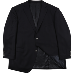 Ron Bennett Classic Blazer in Navy - Ron Bennett Big Men's Clothing - 1