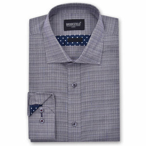 Brooksfield Textured Jaspe Shirt