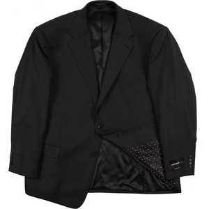 Rembrandt Suit Jacket in Charcoal - Ron Bennett Big Men's Clothing - 1