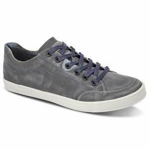 Ferracini Unga Casual Shoe in Grey - Ron Bennett Big Men's Clothing