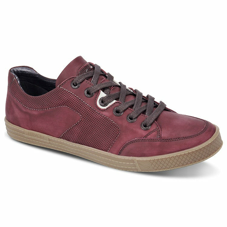 Ferracini Unga Casual Shoe in Red - Ron Bennett Big Men's Clothing