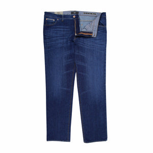 Brax Cadiz Jeans in Denim - Ron Bennett Big Men's Clothing - 1