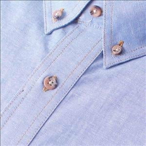 Gloweave 5045SN Classic Chambray Shirt in Blue