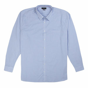 Gloweave Essential Dobbie Check Shirt in Blue