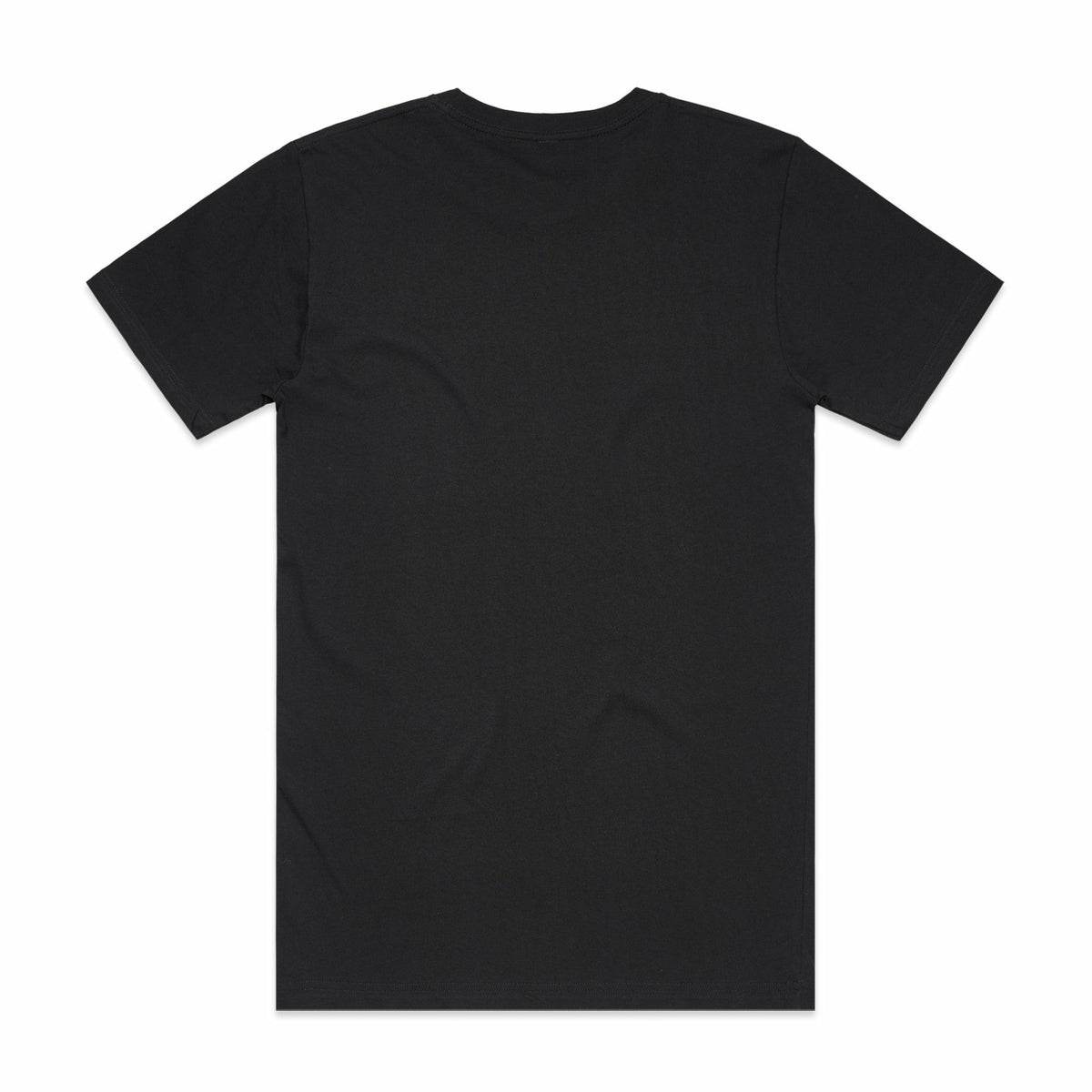 AS Colour Black Cotton Tee