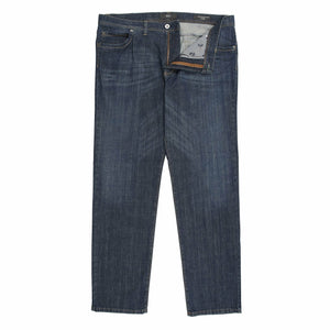 Brax Cadiz 5 Pocket Jeans in Blue Denim - Ron Bennett Big Men's Clothing - 1