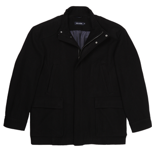 Blazer 'Richmond' Melton Jacket in Black