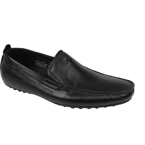 Florsheim 'Corona' Shoe in Black - Ron Bennett Big Men's Clothing - 1