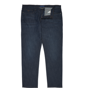 R.M. Williams Ramco Denim Jean in Blue - Ron Bennett Big Men's Clothing - 1